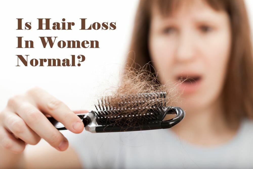 Is Hair Loss in Women Normal