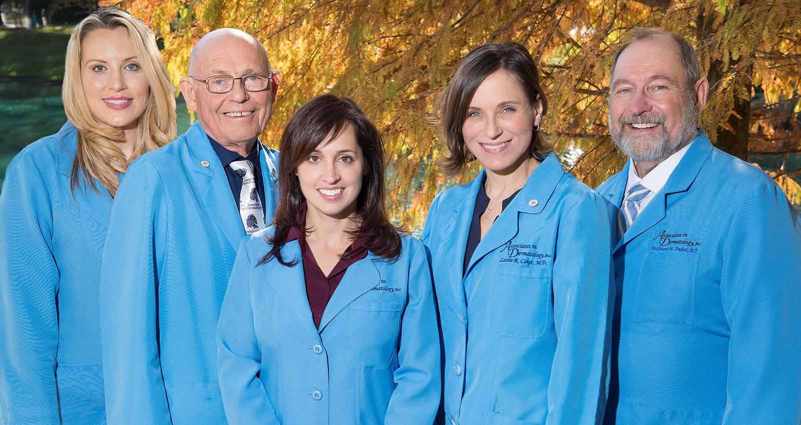 Associates in Dermatology Providers