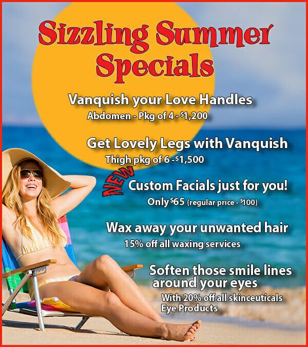 Sizzling Summer Specials