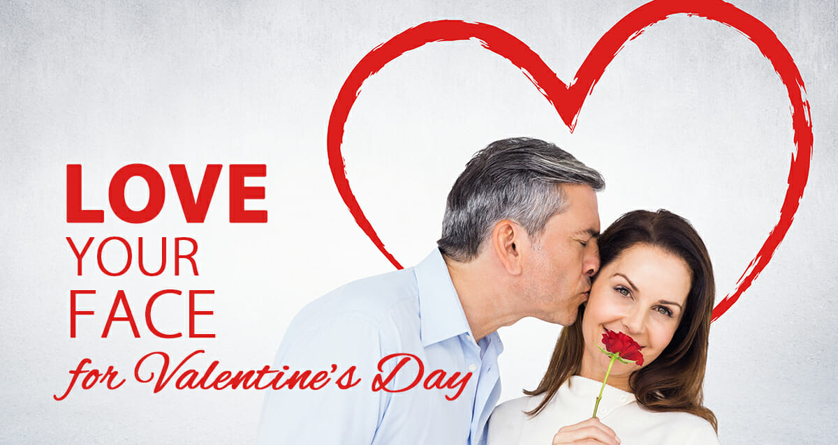 Love Your Face for Valentine's Day