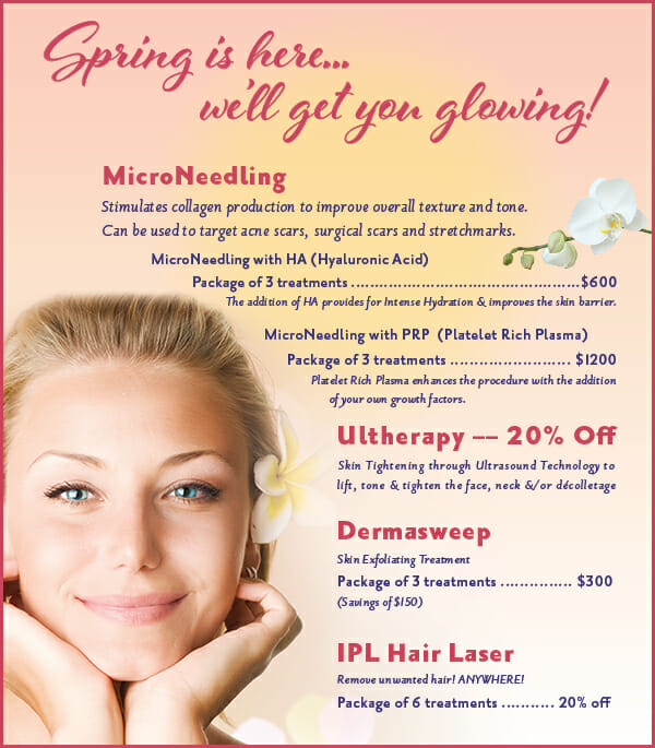 Spring is Here! Let's get you glowing