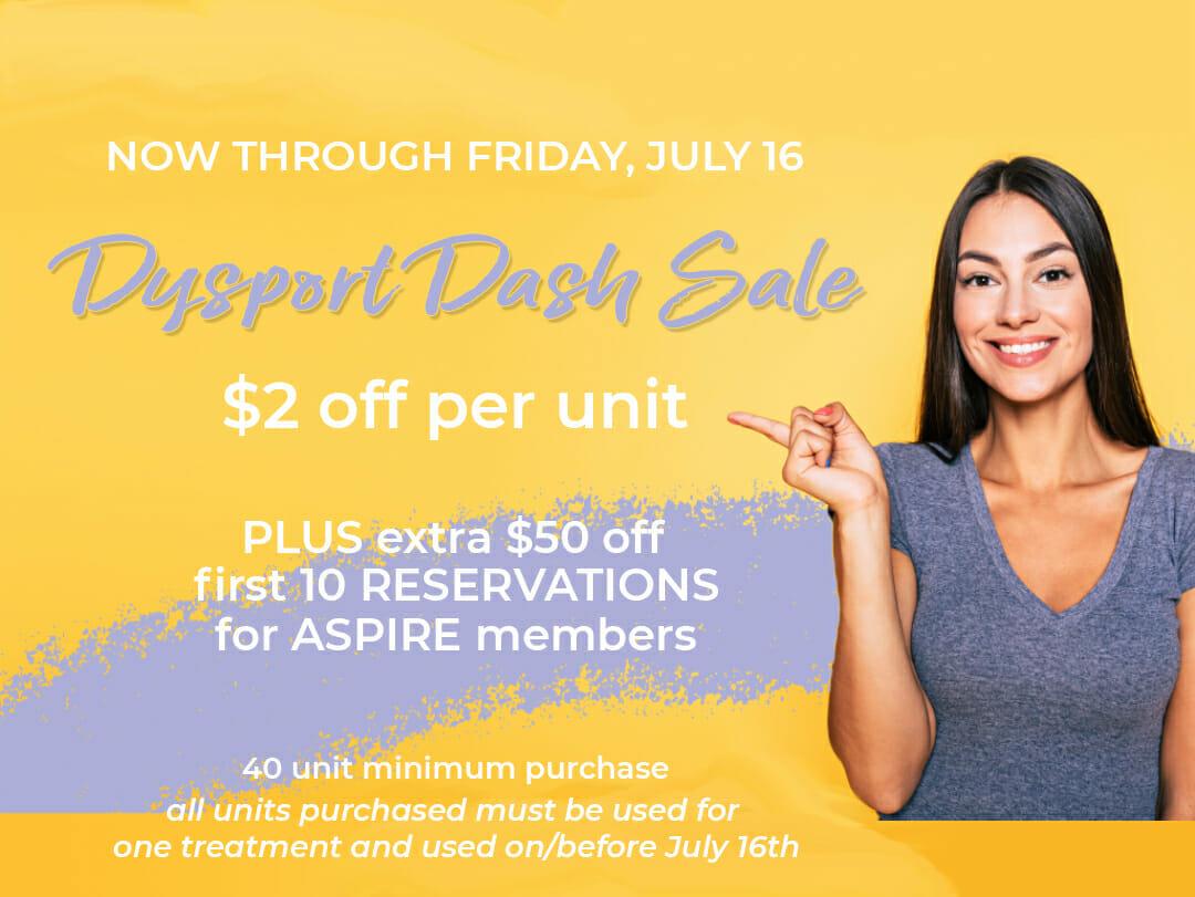 Dysport Dash Sale